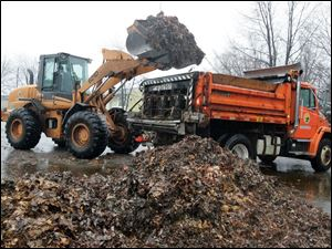 Leaf-collection schedules are being changed to allow crews to tackle large leaf piles that would pose problems if it snowed heavily.