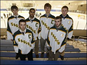 Clay is one of the more experienced teams with, front from left, Jerry Murray and J.T. Hennessy and, back from left, Josh Utter, David Shaheen, Michael Wojciechowski and E.J. Lamay.
