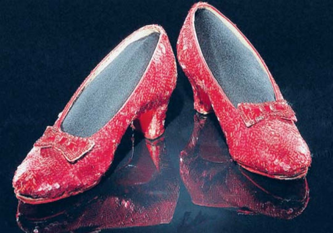73826bc269e Judy Garland s Wizard of Oz ruby slippers are in the Smithsonian National  Museum of American