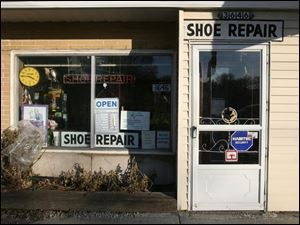 Pasquale & Sons Shoe Repair, on Upton Avenue in Toledo, is attracting 10 to 15 new customers a day, its owner reported.