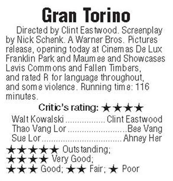 Gran torino movie reviews