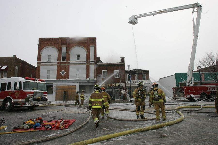 Fire-guts-2-buildings-in-downtown-Findlay
