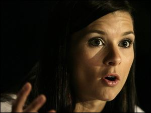 IndyCar driver Danica Patrick was the guest speaker last night at the Italian-American Club's Ann