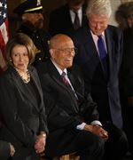 John-Dingell-Nancy-Pelosi-Bill-Clinton