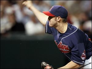 Right-hander Jensen Lewis had a roller-coaster 2008 season for the Indians and their Triple-A team in Buffalo, but at the end he was the Tribe's closer and wound up with 13 saves.