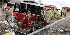 2-hurt-as-pickup-fire-engine-collide-in-Wood-County