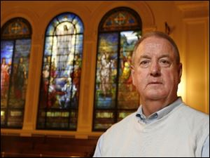 The Rev. Larry Vriezelaar said 13 couples will participate in Renewal Sunday, helping  to calm the storm of divorce.