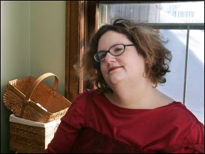 The 5-foot, 7-inch Rebecca Golden has lost about 300 pounds since having surgery in December, 2005.
