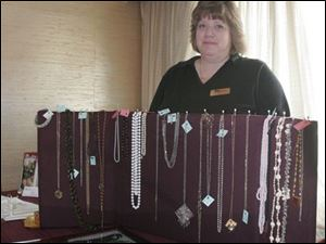 Lynn Malinowski helps people hold estate sales.