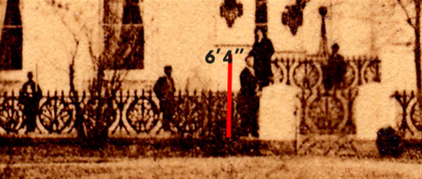 Grants Photo Believed Sole Image Of Lincoln Outside White House