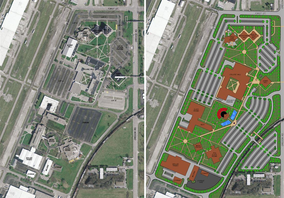 Owens Adopts Campus Plan Toledo Blade