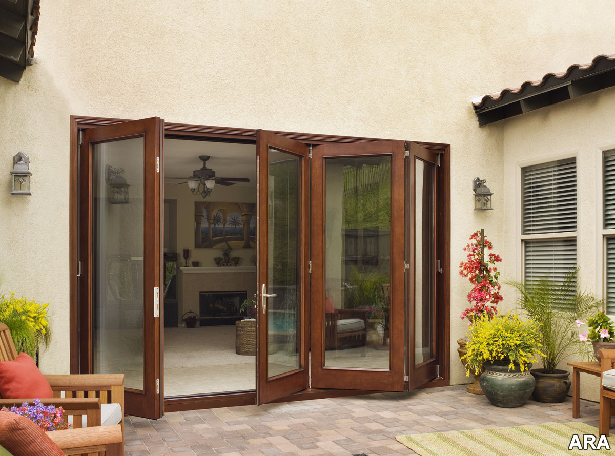 Perfect patio doors provide a fresh approach to inspired for Outdoor patio doors