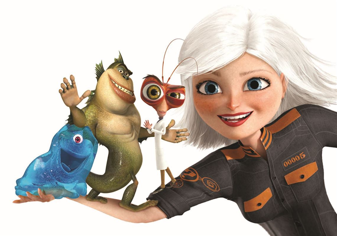 Movie Review Monsters Vs Aliens The Blade