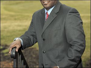 Terry Awls, 36, is the first African-American general manager of a metro Toledo private country club.