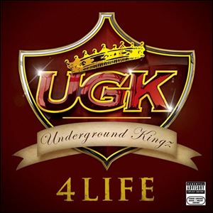 In this album cover released by Jive/Zomba Records, the latest CD by UGK,