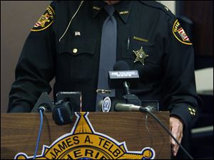 Sheriff James Telb said he had a long meeting with the FBI la