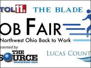• The  Get Northwest Ohio Back to Work  Job Fair is noon to 4 p.m. Friday at the Lucas County Recreation