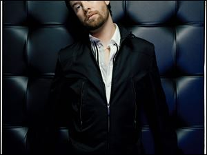 "David Cook, last season's (2008) ""American Idol"" winner, performs at 7:30 p.m. Wednesday at the Owens Community College Student Health and Activities Center on Oregon Road in Perrysburg Township."