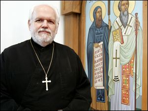 The Rev. Paul Gassios said he finds inspiration in the ninth-century missionary work of Ss. Cyril and Methodius.