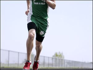 Korbin Smith holds Delta records in the 100, 200 and 400 meters and placed fourth at state last year in the 400.