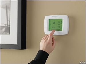 A programmable thermostat will automatically adjust throughout the day to ensure greater energy efficiency.