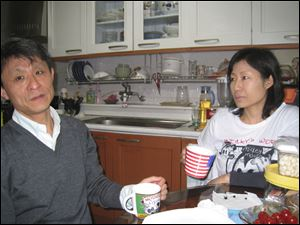 Dae and Young Jung were deported from the United States in 2005 to their native South Korea. Their American-born son, Andrew, stayed behind in Toledo to continue his education.