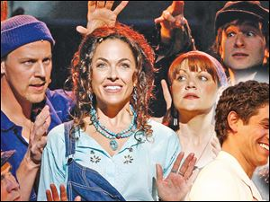 'Mamma Mia' opens Tuesday at the Stranahan Theater.