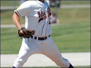 Blissfield's Dean Eisenmann had smooth sailing despite giving up 11 hits after the