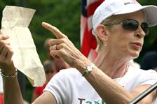 Tea-party-protest-in-Perrysburg-targets-extent-of-federal-spending
