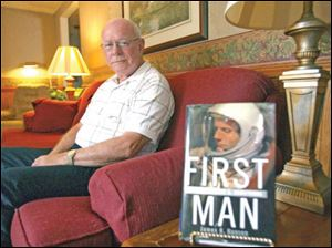 Ned Keiber went to high school with Neil Armstrong in Wapakoneta.