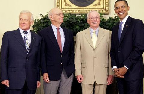 moon neil armstrong obama picture - photo #9