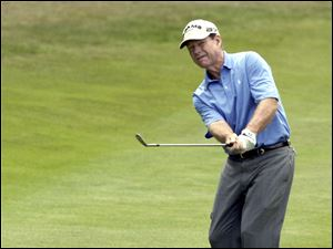 Tom Watson rebounded nicely from his playoff loss on Sunday in the British Open. He shot a 67 yesterday.