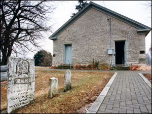 The Wyandot Mission Church in Upper Sandusky was built by the federal government in 1824 for