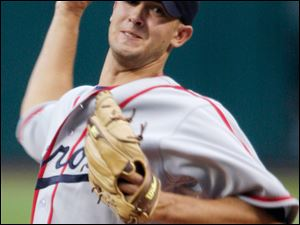 Detroit's Rick Porcello threw eight strong innings against the Indians, striking out three and giving up four hits and one run. Despite his performance, he got a no decision as Detroit won the game in extra innings.