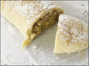 Lieselotte Sielicki's Apple Strudel won third place.