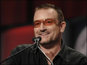 Irish rock star Bono has found a way to transform the West's consumerism into a fund-raiser for African relief.