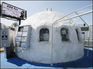 Original Igloo Ice Cream is at the corner of Monroe Street and Douglas Road.