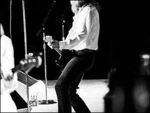 Seger performing at Madison Square Garden in New York in 1980.