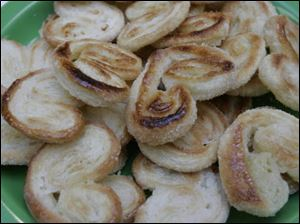 Palmiers made at the Tam-O-Shanter Life, Home and Leisure Show.