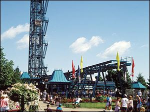 Cedar Point says it has no plans for the site occupied by the Demon Drop, built in 1983 by Intamin Co. Inc. of Switzerland.