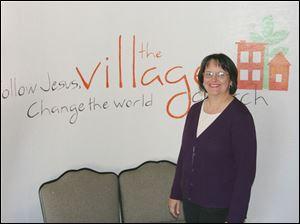 The Rev. Cheri Holdridge has spent years preparing for Sunday's opening of the Village Church, a joint project of the United Methodist Church and United Church of Christ.