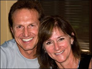 Eric Beaudry and his wife, Deb Rogers-Beaudry, 51, both of Pueblo, Colo., were en route from Scranton, Pa., to the Lenawee County Airport.