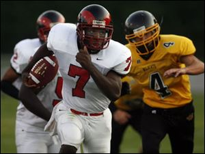 Rogers senior E.J. Tucker led the City League in rushing (1,118 yards) and passed for 1,193 yards.