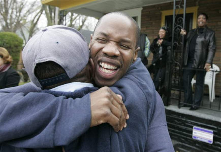 Friends-family-greet-Toledo-man-after-13-years-behind-bars