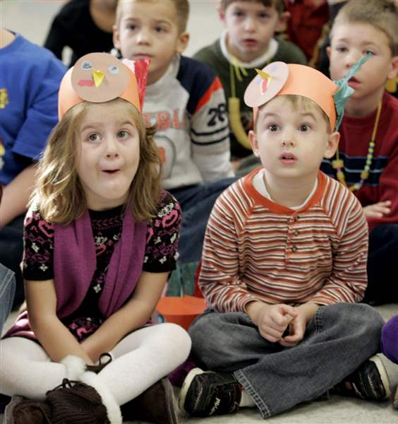 Talking-turkey-at-Starr-Elementary-in-Oregon