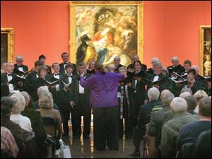 Masterworks Chorale, under the direction of Donna Tozer Wipfli, performed last year in the