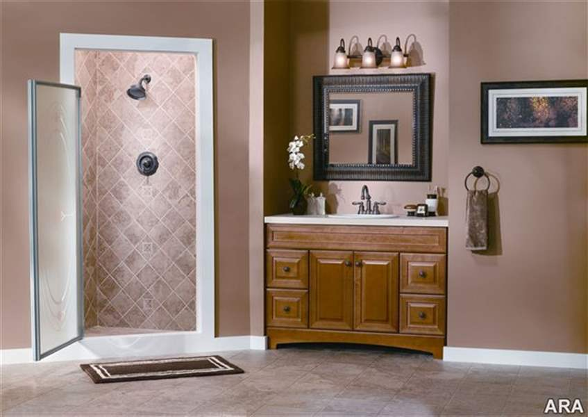 Budget friendly bathroom updates the blade for Inexpensive bathroom updates