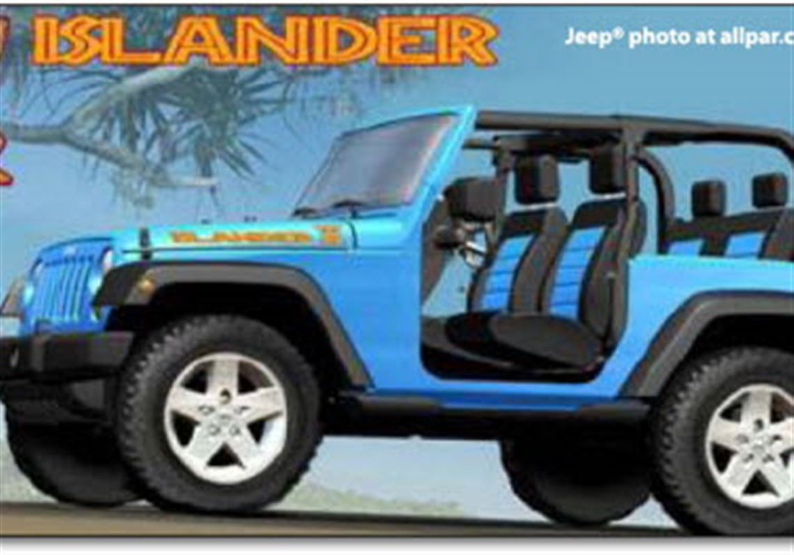Jeep Islander Due For Rerun In 2010 Wrangler Version To Be Built Here The Blade
