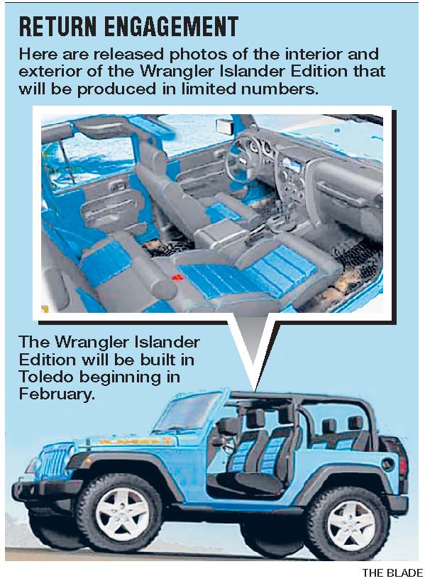 Jeep Islander due for rerun in 2010; Wrangler version to be built ...