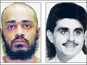 Vernon Smith, now Abdullah Sharif Kaaim Mahdi, left, is to be put to death for the murder of Sohail Darwish, right.